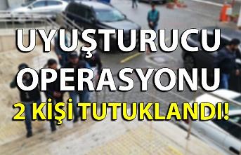 Uyuşturucu operasyonu: 2 kişi tutuklandı!..