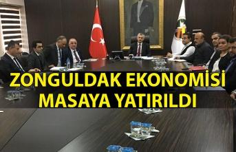 Zonguldak ekonomisi masaya yatırıldı