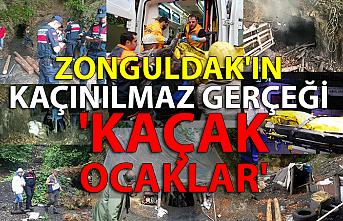 Zonguldak'ın kaçınılmaz gerçeği 'kaçak ocaklar'