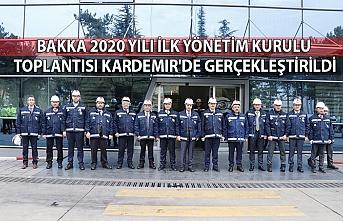 BAKKA 2020 Yılı İlk Yönetim Kurulu Toplantısı KARDEMIR'de Gerçekleştirildi