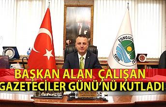 Başkan Selim alan Çalışan Gazeteciler Günü'nü kutladı