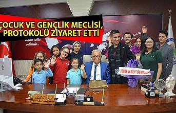 Çocuk Ve Gençlik Meclisi, protokolü ziyaret etti