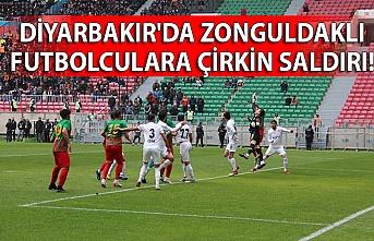 Diyarbakır'da Zonguldaklı futbolculara çirkin saldırı