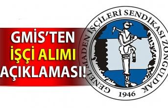 GMİS'ten işçi alımı açıklaması!