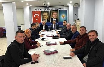 Yeni yılın ilk Belediye Meclis Grubu toplantısını yaptılar