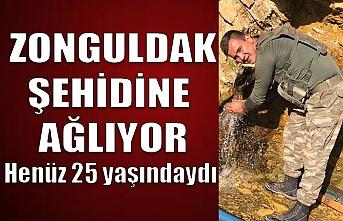 Şehidin var Zonguldak!