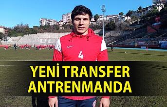 Yeni transfer antrenmanda