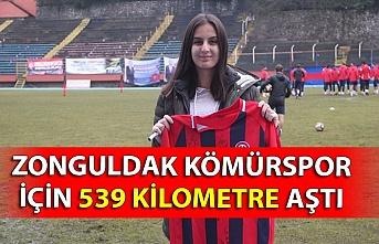 Zonguldak Kömürspor için 539 kilometre aştı