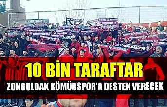 10 bin taraftar Zonguldak Kömürspor'a destek verecek