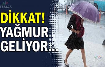 Dikkat! Yağmur geliyor...