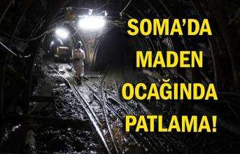 Soma'da maden ocağında patlama!