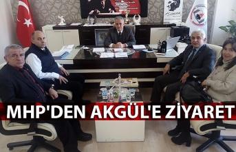 MHP'den Akgül'e ziyaret