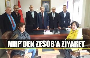 MHP'den ZESOB'a ziyaret