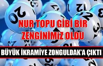 Nur topu gibi bir zenginimiz oldu... Büyük ikramiye Zonguldak'a çıktı!