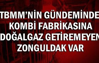TBMM'nin  gündeminde Kombi fabrikasına doğalgaz getiremeyen Zonguldak var