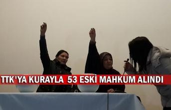 TTK'ya Kurayla  53 eski mahkum alındı