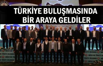 Türkiye buluşmasında bir araya geldiler