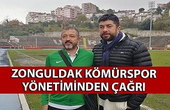 Zonguldak Kömürspor yönetiminden çağrı