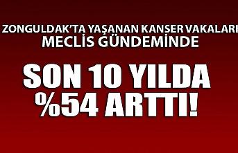 Zonguldak'ta kanser son 10 yılda %54 arttı