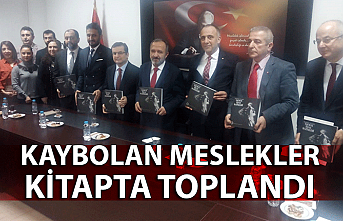 Zonguldak'ta kaybolan meslekler kitapta toplandı
