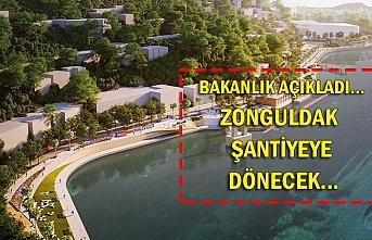 Bakanlık açıkladı...  Zonguldak  şantiyeye  dönecek...