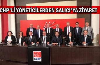CHP'li yöneticilerden Salıcı'ya ziyaret
