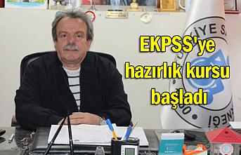 EKPSS'ye hazırlık kursu başladı
