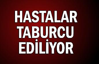 HASTALAR TABURCU EDİLİYOR