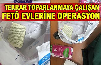 Tekrar toparlanmaya çalışan FETÖ evlerine operasyon : 58 gözaltı