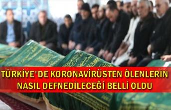 Türkiye'de koronavirüsten ölenlerin nasıl defnedileceği belli oldu