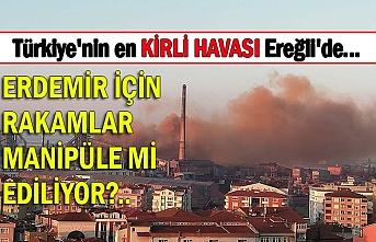 Türkiye'nin en KİRLİ HAVASI Ereğli'de... ERDEMİR İÇİN RAKAMLAR MANİPÜLE Mİ EDİLİYOR?..