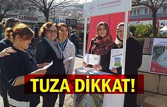 TUZA DİKKAT!