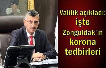 Valilik açıkladı: işte Zonguldak'ın korona tedbirleri