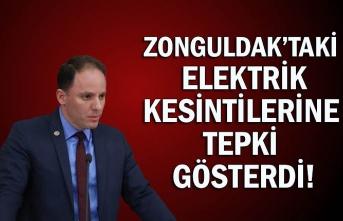 Yavuzyılmaz, Zonguldak'taki elektrik kesintilerine tepki gösterdi!