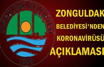 Zonguldak Belediyesi'nden koronavirüsü açıklaması