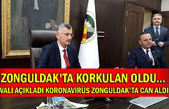 Zonguldak'ta korkulan oldu... Vali açıkladı koronavirüs Zonguldak'ta can aldı