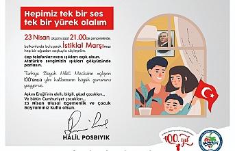 Atatürk'e sevgimizin ışıkları gökyüzünde parlasın