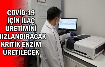 BAKKA Desteğiyle Covid-19 İçin İlaç Üretimini Hızlandıracak Kritik Enzim Üretilecek