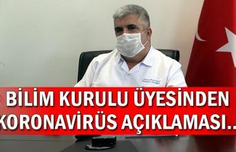 Bilim Kurulu Üyesinden Koronavirüs Açıklaması…
