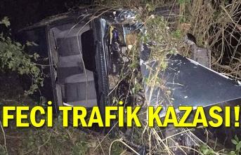 Feci trafik kazası!