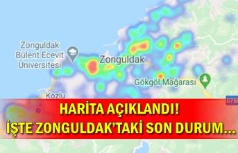 Harita açıklandı! İşte Zonguldak'taki son durum…