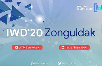 """'IWD'20 Zonguldak"""" etkinliği canlı yayın ile gerçekleştirilecek"""