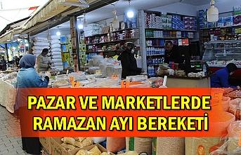 Pazar ve marketlerde Ramazan Ayı bereketi