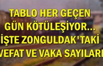 Tablo her geçen gün kötüleşiyor... İşte Zonguldak'taki vefat ve vaka sayıları