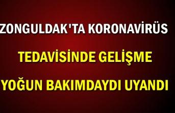 Zonguldak'ta Koronavirüs tedavisinde gelişme  Yoğun bakımdaydı uyandı