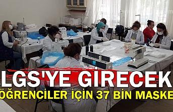LGS'ye girecek öğrenciler için 37 bin maske