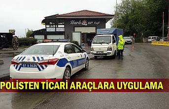 Polisten ticari araçlara uygulama
