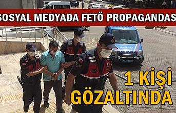 Sosyal medyadan FETÖ propagandası yapan şahıs gözaltında