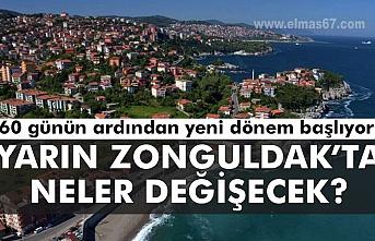 Yarın Zonguldak'ta neler değişecek