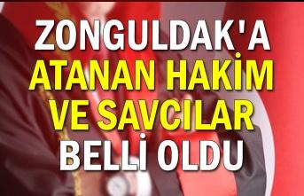 Zonguldak'a atanan Hakim ve Savcılar belli oldu